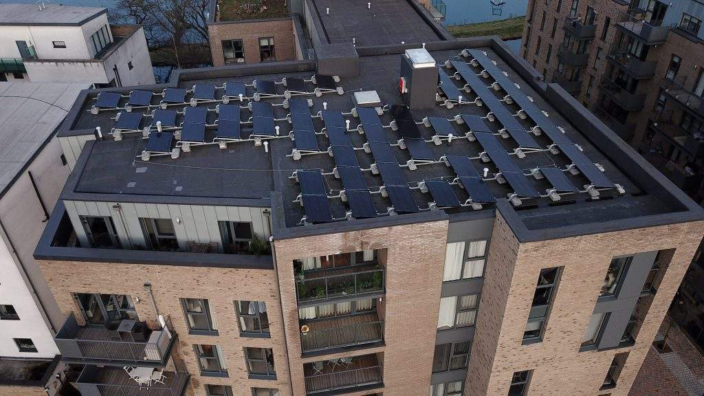 UPS Solar Commercial Solar Panels - community solar power