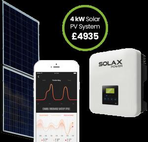 UPS Solar Power PV System