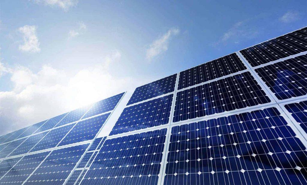 community solar power - solar panels