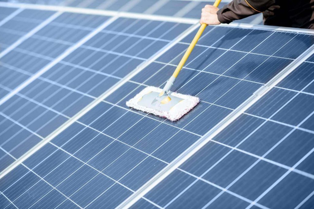 Solar Panels cleaning and maintenance