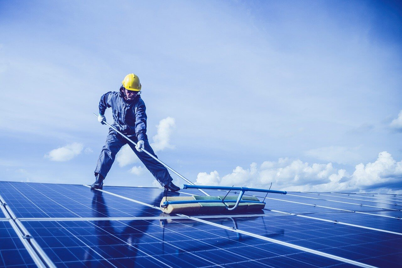 Solar panels and bad weather