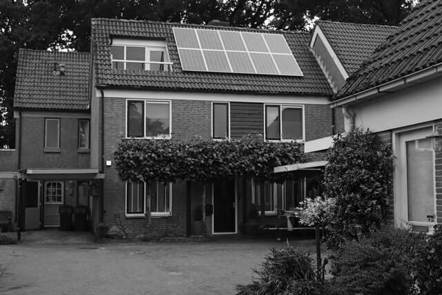 clean energy home- solar home